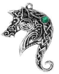 Lyonesse Horse Celtic Necklace
