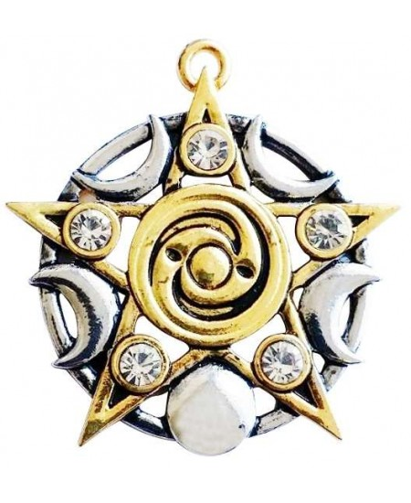 Star of Skelling Pentagram Necklace at Mystic Convergence Metaphysical Supplies, Metaphysical Supplies, Pagan Jewelry, Witchcraft Supply, New Age Spiritual Store