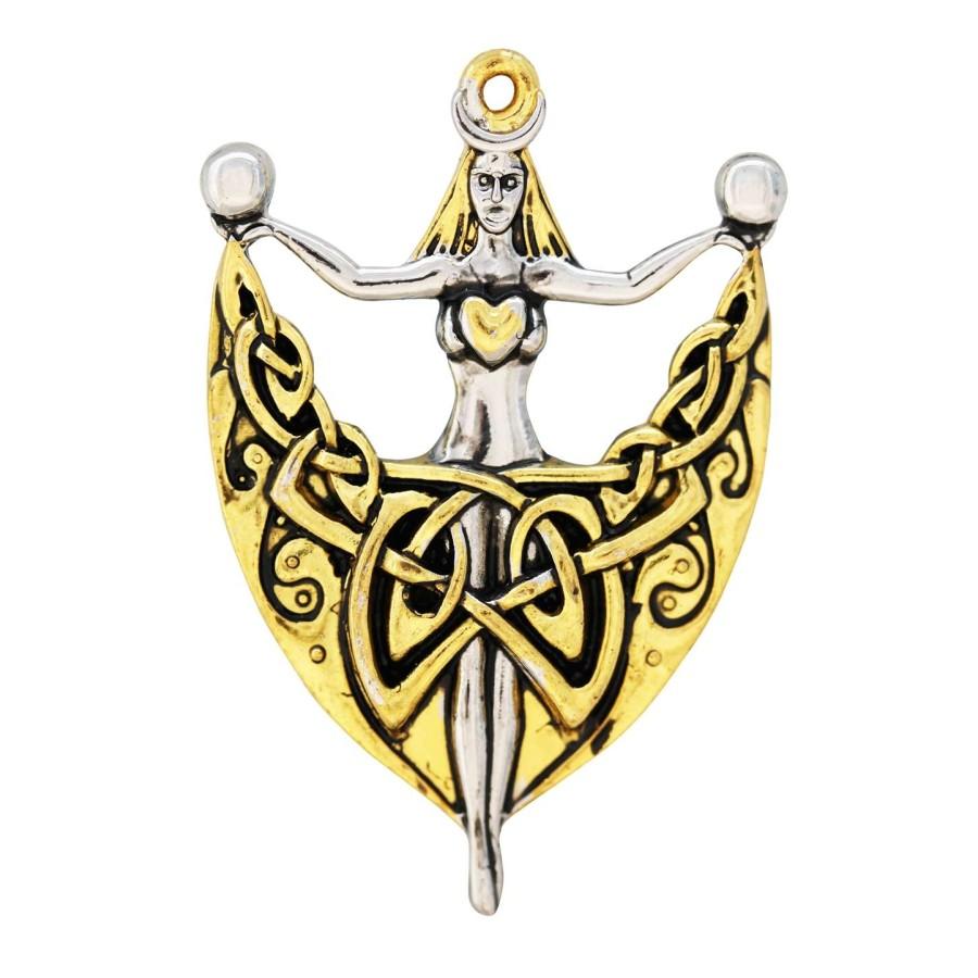 Danu Celtic Goddess of Wisdom Necklace