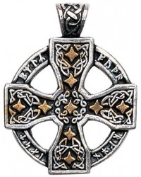 Runic Celtic Cross Pewter Pendant Mystic Convergence Metaphysical Supplies Metaphysical Supplies, Pagan Jewelry, Witchcraft Supply, New Age Spiritual Store