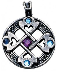 Celtic Cross Heart Pendant Mystic Convergence Metaphysical Supplies Metaphysical Supplies, Pagan Jewelry, Witchcraft Supply, New Age Spiritual Store