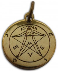 Pentacle of Eden Magic Charm for Love