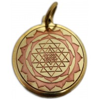 Shri Yantra Magickal Charm for Good Luck
