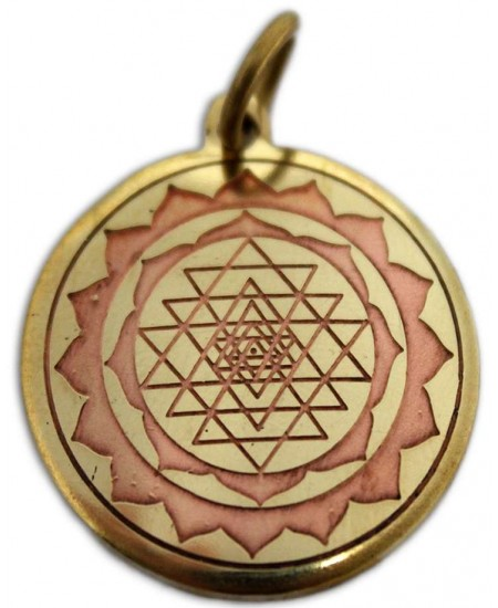Shri Yantra Magickal Charm for Good Luck at Mystic Convergence Metaphysical Supplies, Metaphysical Supplies, Pagan Jewelry, Witchcraft Supply, New Age Spiritual Store