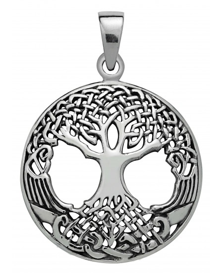 Druid Tree of LIfe Sterling Silver Pendant at Mystic Convergence Metaphysical Supplies, Metaphysical Supplies, Pagan Jewelry, Witchcraft Supply, New Age Spiritual Store