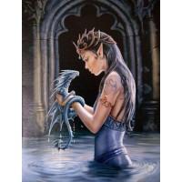 Water Dragon Canvas Art Print