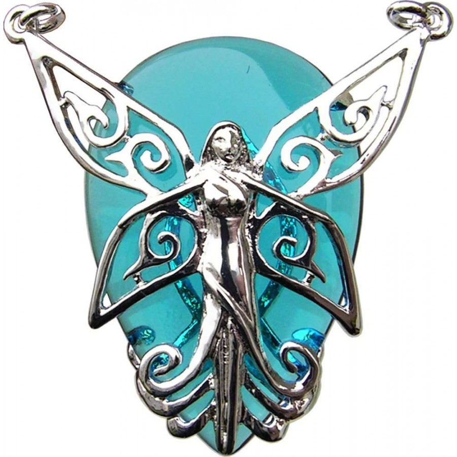 Anne stokes crystal keeper fairy necklace hope health amulet magic poesy fairy crystal keeper necklace for hope at mystic convergence wiccan supplies pagan jewelry aloadofball Images
