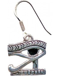 Eye of Horus Earrings for Protection Mystic Convergence Wiccan Supplies, Pagan Jewelry, Witchcraft Supplies, New Age Store
