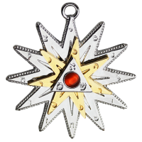 Kaballah Star Amulet Necklace