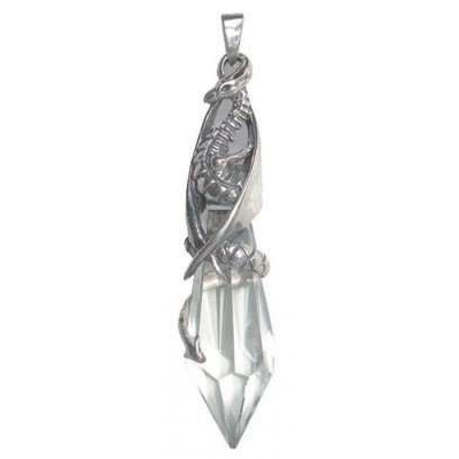 with freshwater crystal reiki healing pendant pearls img product designs raw necklace