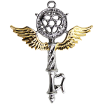 Key of Solomon Protection Amulet at Mystic Convergence Metaphysical Supplies, Metaphysical Supplies, Pagan Jewelry, Witchcraft Supply, New Age Spiritual Store
