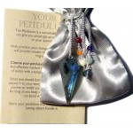 Labradorite and Chakra Scrying Pendulum at Mystic Convergence Metaphysical Supplies, Metaphysical Supplies, Pagan Jewelry, Witchcraft Supply, New Age Spiritual Store