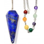 Lapis Lazuli Chakra Scrying Pendulum at Mystic Convergence Metaphysical Supplies, Metaphysical Supplies, Pagan Jewelry, Witchcraft Supply, New Age Spiritual Store