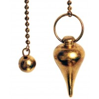Brass Wealth Scrying Pendulum